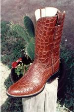 Alligator Boot w/Matching Alligator Top