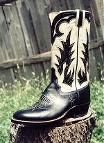 Black & Bone Kangaroo Boot w/Inlay
