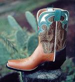 Tan Kangaroo PeeWee Boot w/Collar