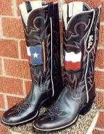 Boots Custom-Made For The Governor of Texas, Rick Perry