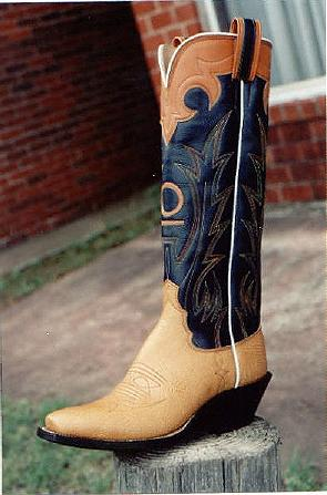 Tex Robin Custom Bootmaker Inlay Exotic Boot Gallery